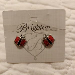 Brighton Spring Ladybug Earrings